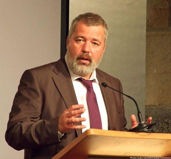 A Nobel-békedíjas Muratov szerint a kitüntetés a szólás szabadságáért életüket vesztett kollégák érdeme