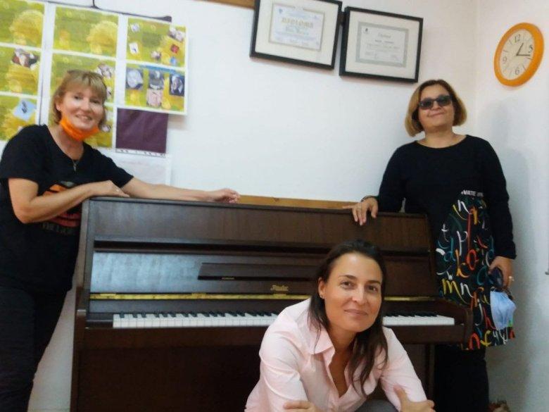 Magyarországi zongoraadomány érkezett Szebenbe