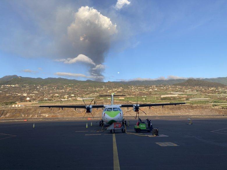 Elérte az Atlanti-óceánt a Cumbre Vieja vulkán lávája