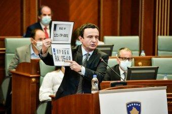 Tovább dúl a rendszámtábla-háború Koszovó és Szerbia között