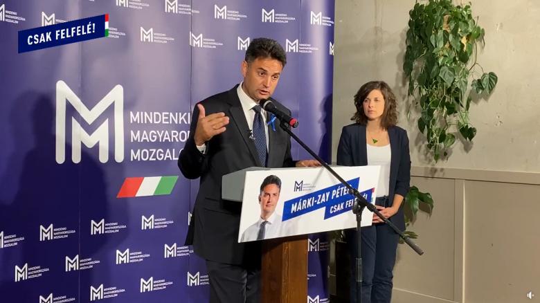 Márki-Zay Péter, miután megnyerte az előválasztást: ellenzéket váltottunk