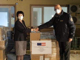Több mint ezer doboz, a Covid-19 súlyos formáinak kezelésére szolgáló gyógyszert küldött Ausztria Romániának