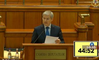 Nem adott esélyt a parlament Cioloș kormányalakítási kísérletének, ismét Iohannis térfelén a labda
