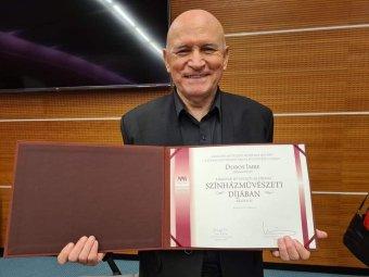 Budapesti elismerés Dobos Imre nagyváradi színművésznek