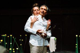 Vers és installáció találkozása a színpadon: Bogdán Zsolt kolozsvári színművész új rendezéséről