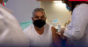 Orbán Viktor megkapta a koronavírus elleni oltás harmadik adagját (VIDEÓ)
