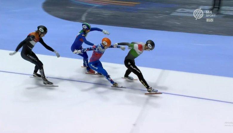 Magyar diadal: Liu Shaoang aranyérmes 500 méteren a rövidpályás gyorskorcsolya vb-n