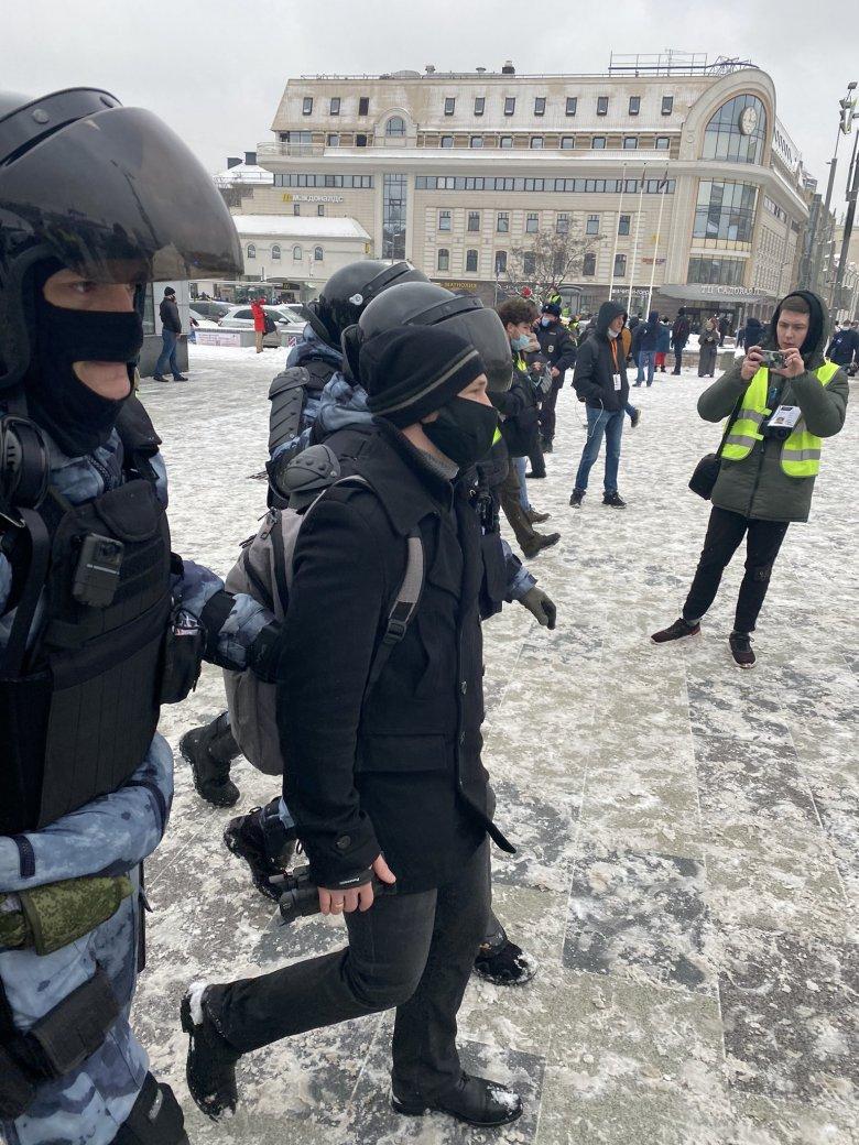 Oroszország: több mint 4,5 ezer embert vettek őrizetbe a Putyin-ellenes megmozdulásokon