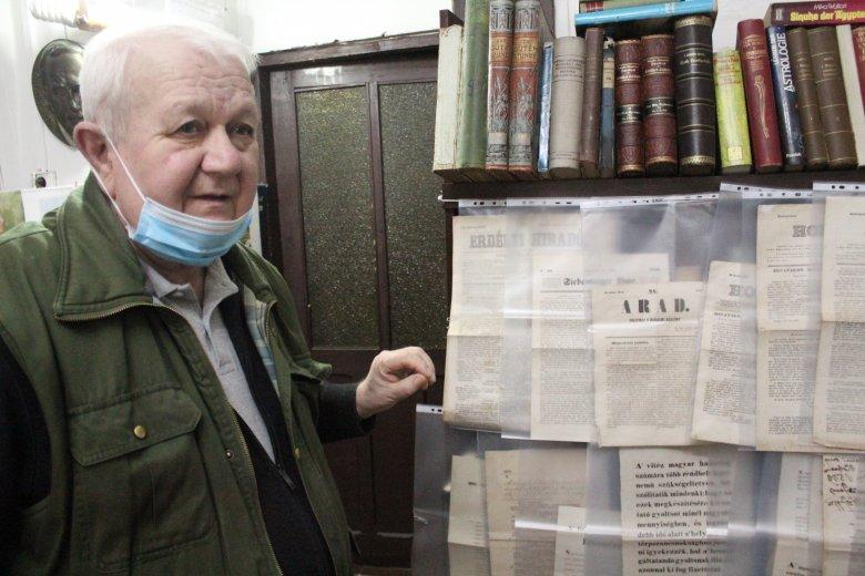 Régi könyvek közt megbújó történelmi ereklyék a kolozsvári Röser Antikváriumban