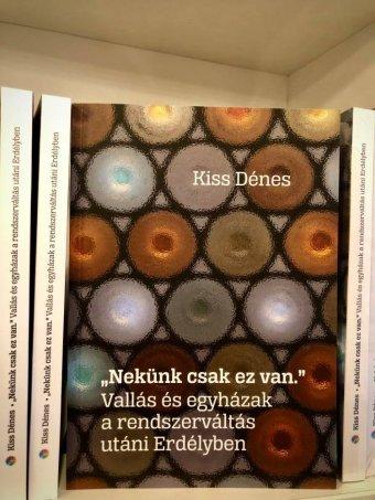 Kötet jelent meg az erdélyi egyházakról