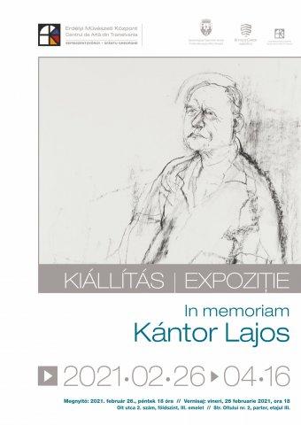 Aki tágította a kánont: kiállítás nyílik Kántor Lajos emlékére a sepsiszentgyörgyi Erdélyi Művészeti Központban