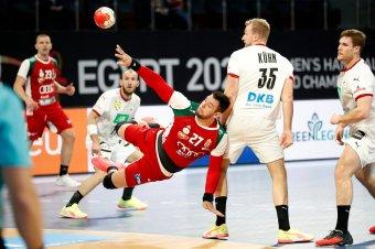 Férfi kézilabda-vb: a németek legyőzésével csoportgyőztesként jutottak középdöntőbe a magyarok