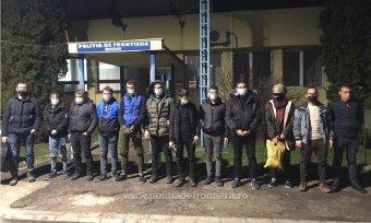 Több mint harminc migránst tartóztattak fel a román–magyar határon