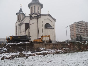 Harminc napot szán az ortodox katedrális körüli ásatásra a váradi polgármester