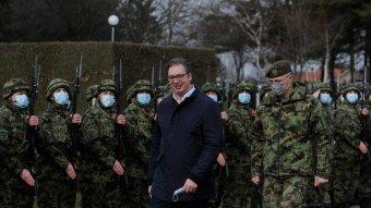 Merényletet terveztek a szerb államfő ellen a rendőrség szerint