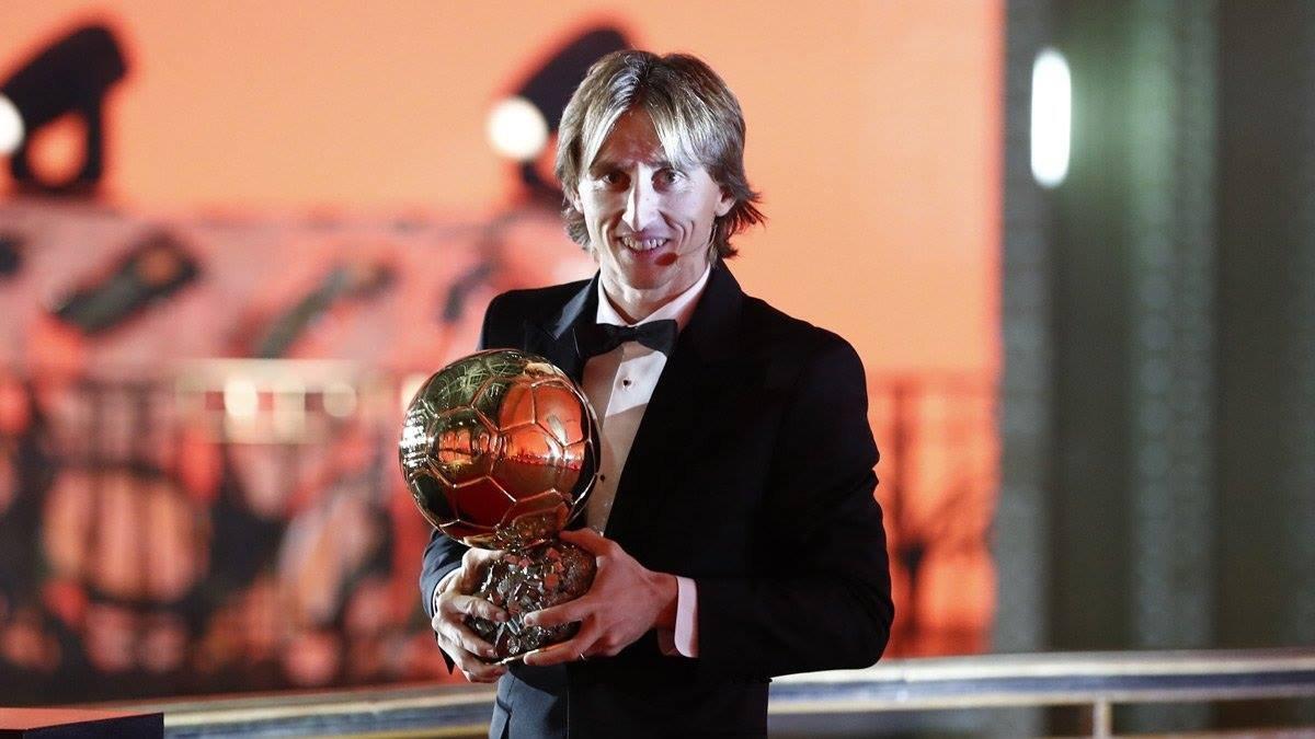 Luka Modricnak ítélték oda az Aranylabdát