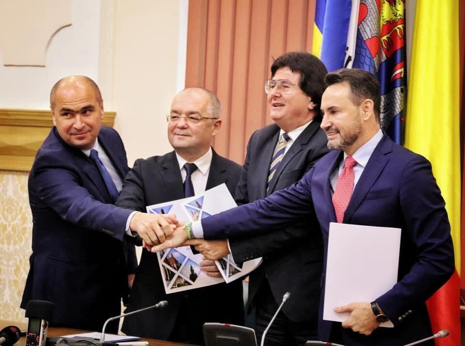 """""""Nem vagyunk szeparatisták!"""" – Létrejött a négy nyugat-erdélyi nagyváros társulása"""