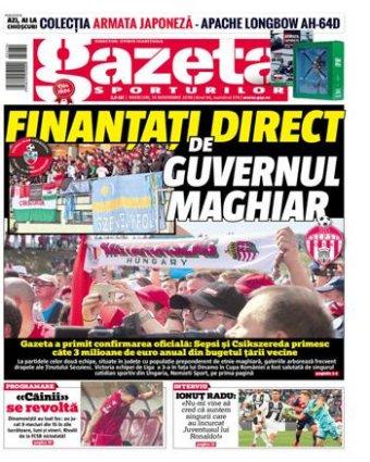 Román elemző hibridháborús elemnek tartja a székelyföldi focicsapatok magyarországi támogatását
