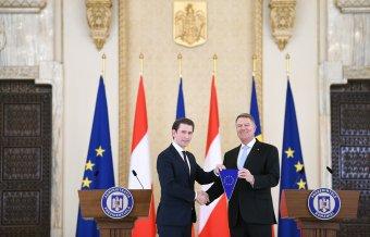 Sebastian Kurz meglebegtette az osztrák cégek kivonulását a tervezett román különadók miatt