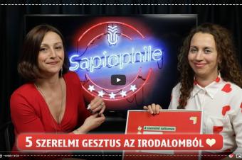 Pirosszíves Sapiophile Valentin-napra