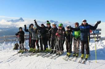 Gyorsaság a hegyoldalakon: alpesi sí