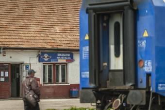 Madéfalva, a fényét vesztett vasúti csomópont