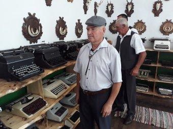 Egyedülálló magángyűjtemény írógépekből. Múzeum lett belőle