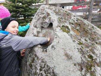 A legendás kő, amelyet átmenetileg elloptak