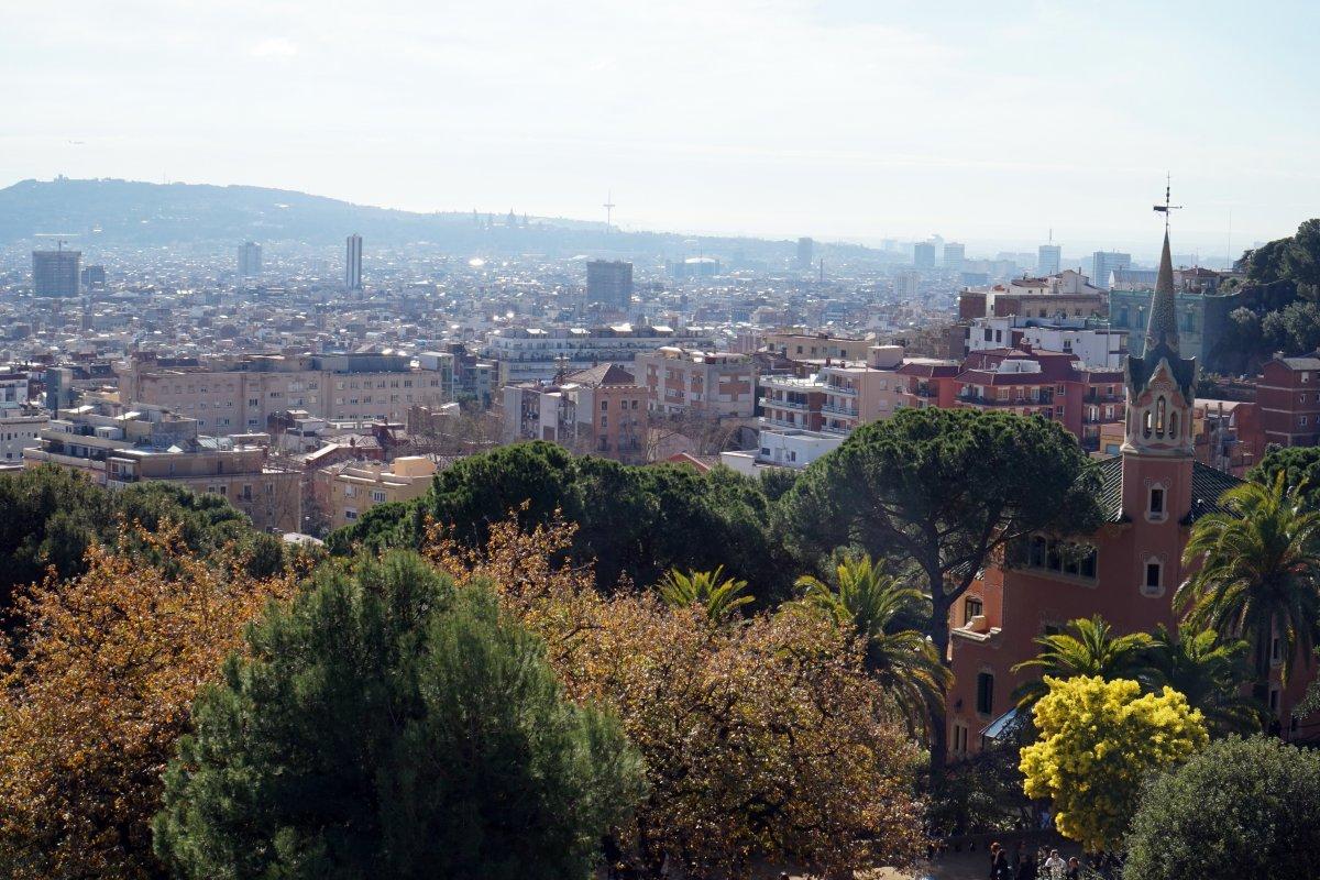Barcelonai látkép •  Fotó: Deák Szidónia