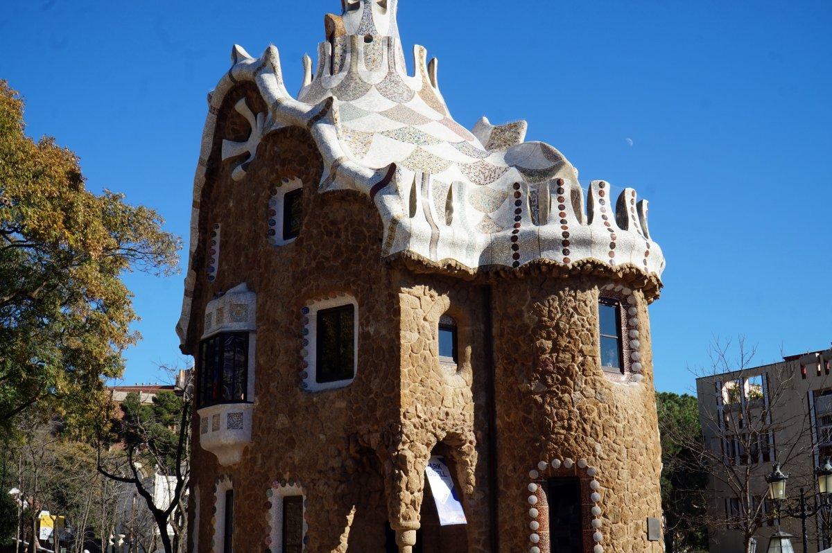 A Güell park – Gaudi másik híres produktuma •  Fotó: Deák Szidónia
