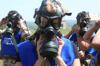 Mi kell ahhoz, hogy haditudósító legyél? Gombos Emőke megtapasztalta