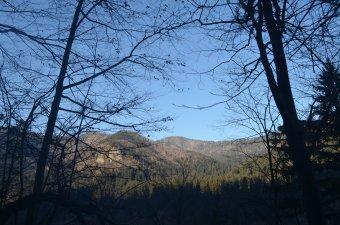 Februári túra a tusnádi Bányász-patak völgyébe