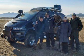 Nyomornegyedek jurtákkal. A klímaváltozásról forgattak Mongóliában a marosvásárhelyi újságírók