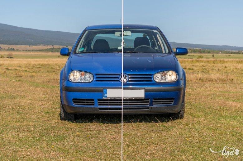 Azonos típusok különböző útjai: Volkswagen Golf IV