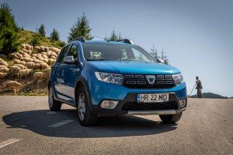 Átlépte a saját határait: Dacia Sandero Stepway