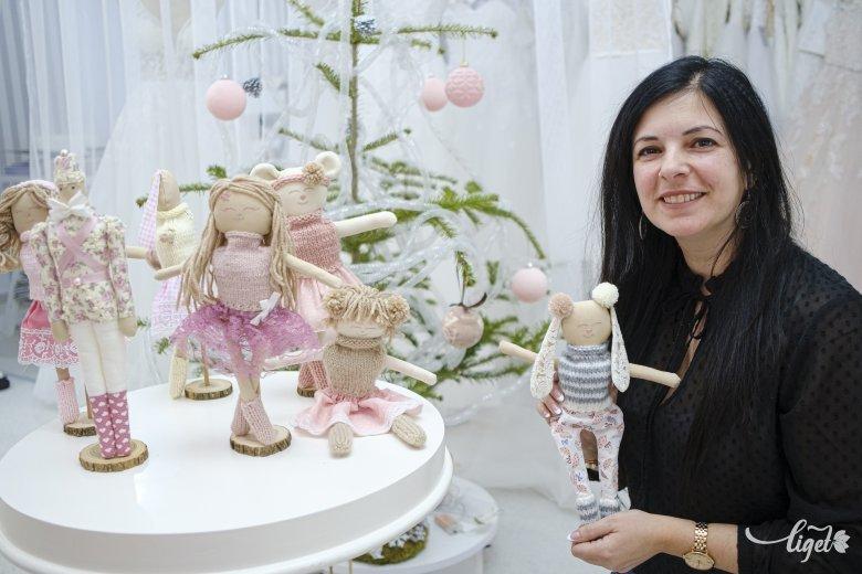 Esküvői szalon helyett kézműves babák: Szőcs Ramóna új kezdete