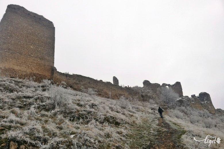 Az óriások várában jártunk: Torockó télen
