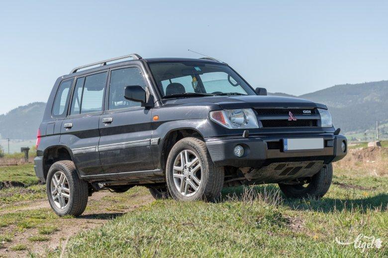 Nem csak terepen van elemében: Mitsubishi Pajero Pinin