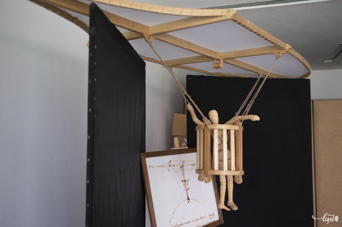 Da Vinci a repülés megszállottja volt •  Fotó: Veres Nándor