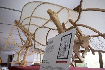 Leonardo da Vinci lenyűgöző szerkezetei Csíkszeredában