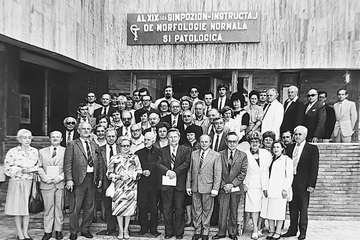Kelemen József a kórház tudományos tevékenységének egyik motorja volt •  Fotó: Forrás: a Csíkszeredai Megyei Sürgősségi Kórház gyűjtése