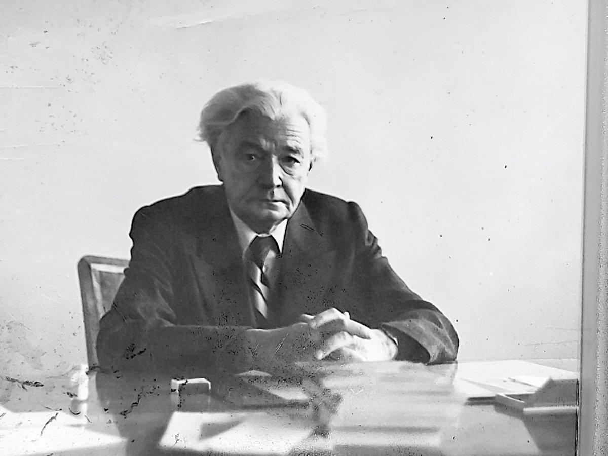 Dr. Bajkó Barabás a csíkszeredai szülészet-nőgyógyászat főorvosa volt 1947–1985 között. Fontos szerepe volt abban, hogy új kórházat építettek Csíkszeredában •  Fotó: Székely Csaba