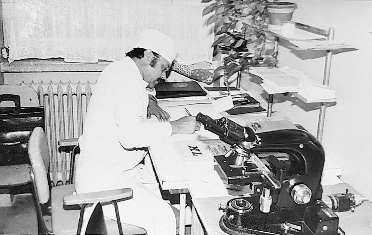 Dr. Rédai Géza törvényszéki orvos a hetvenes években •  Fotó: Rédai Erzsébet archívuma
