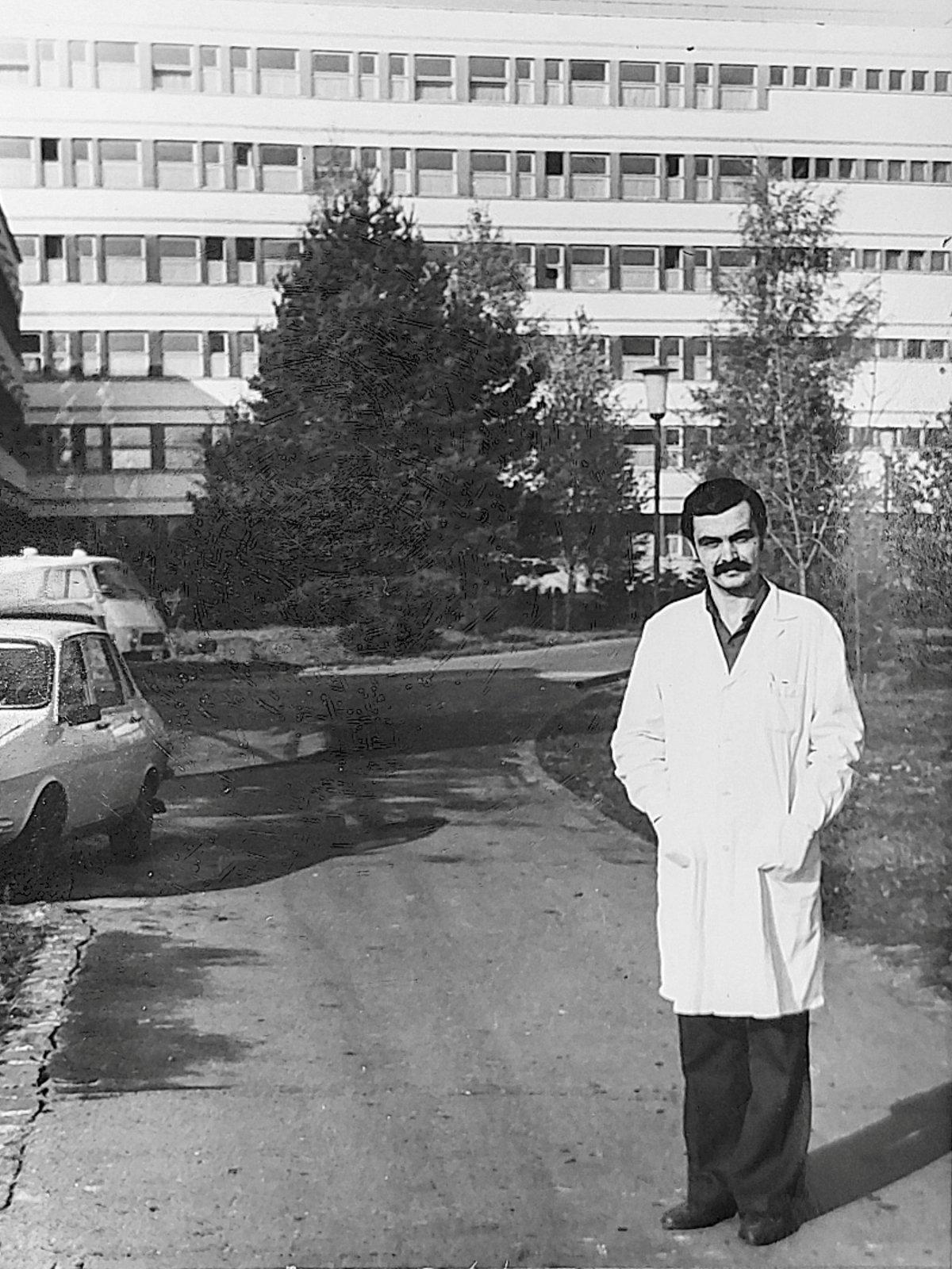 Székely Csaba a kórház hivatásos fotósa volt •  Fotó: Forrás: a Csíkszeredai Megyei Sürgősségi Kórház gyűjtése