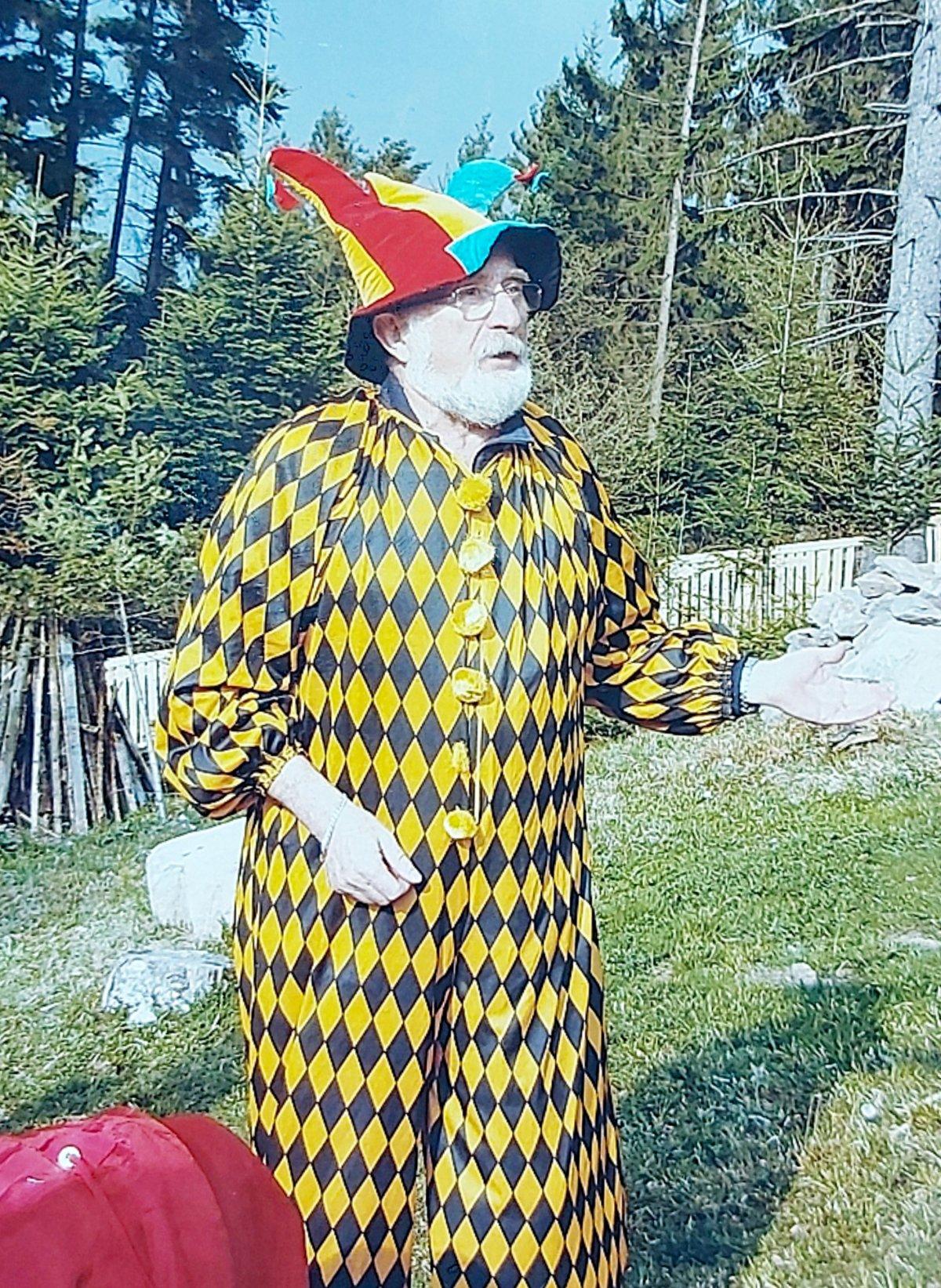 """A """"főbohóc"""", azaz dr. Veress Albert évtizedeken át volt a pszichiátriai osztály vezetője •  Fotó: Forrás: a Csíkszeredai Megyei Sürgősségi Kórház gyűjtése"""