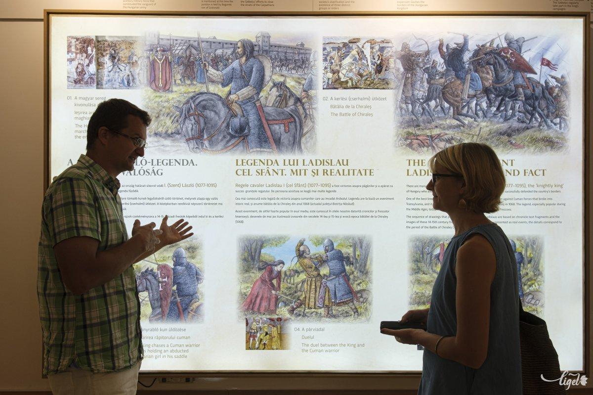 A Szent László-freskók nagyon jó történeti források arra, hogy megtudjuk, hogyan néztek ki a székelyek az 1400-as években •  Fotó: Veres Nándor