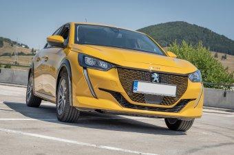 Nem fáj a kipufogó hiánya: Peugeot e-208