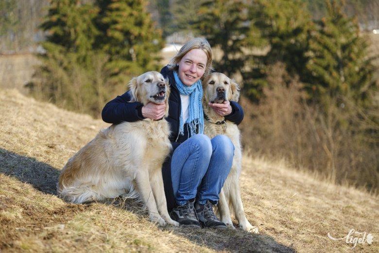 Lelkeket mozgató terápiás kutyák