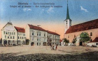 A főtér őre. Érdekességek az udvarhelyi református templom történetéből