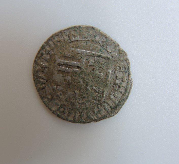 Pénzérme a késő középkori magyar királyságból •  Fotó: Az egresi ásatási projekt fotóarchívuma